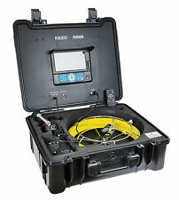 REED R9000 Pipe Video Inspection System to Inspect the Interiors of Pipelines