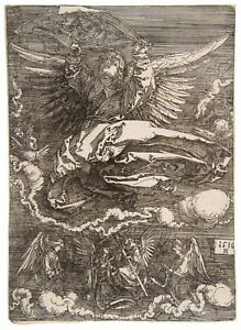 Albrecht Durer Sudarium Held by One Angel paper or canvas reproduction