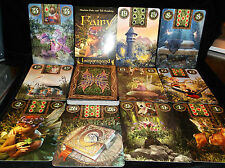 SEALED & BRAND NEW! FAIRY LENORMAND CARD & BOOK ORACLE COLORFUL FANTASY TAROT