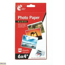 "6 x 4"" GLOSS 30 Sheets Photo Paper 235 gsm Inkjet Printer Photo Paper Colour"