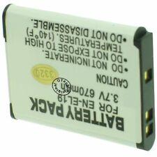 Batterie Appareil Photo pour NIKON COOLPIX W100 - capacité: 700 mAh