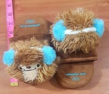 Vancouver 2010 Olympics Mascot Kids Slippers youth size small 4-6