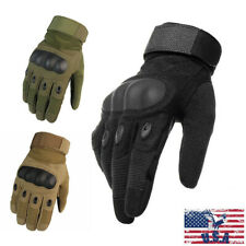 Touch Screen Gloves Gloves for Motorcycle Cycling Training Army Shooting Outdoor Gloves Khaki Medium,TLK21 Tactical Gloves Army Military Gloves Full Finger Hard Knuckle Combat Gloves for Men