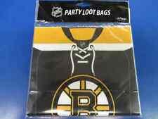 Boston Bruins NHL Pro Hockey Sports Party Favor Treat Sacks Loot Bags