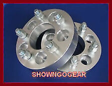 "Wheel Hub Spacer Adapter 5 x 114.3-5 x 114.3 Studs 1/2  2"" FORD JEEP DODGE CHRY"