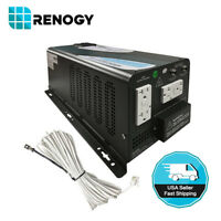 Renogy Open Box 2000W 12V DC to 120V AC Pure Sine Wave Inverter Charger