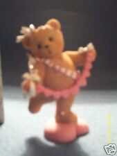Cherished Teddies * Annelle bear dressed as cupid. You pull my heart strings