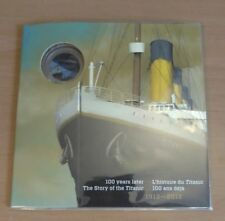 2012 Canada Titanic 25 Cent Coin Sealed package