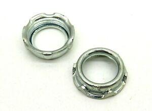 "(100) Thomas & Betts 123 Non-Insulated Metal 3/4"" Rigid Threaded Conduit Bushing"