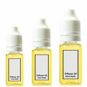 Car Fragrance Air Freshener Oil Diffuser Perfume Cologne Scent Refill