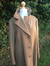 "Camel Wool Sz 20 22 UK 25 IT Marina Rinaldi Persona MAX MARA Coat 49"" C 40"" L"