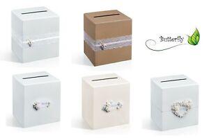 Briefbox Glückwunschkartenbox Hochzeit Taufe Geldgeschenke Kartenbox Geldbox
