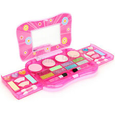 Kids Pretend Non Toxic Girls Play Kit Princess Cosmetic Toy Set Make up Toy Xmas