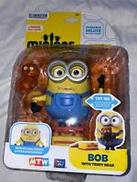 "DESPICABLE ME 2 UNDERCOVER MINION STUART 6"" DELUXE FIGURE EUROPEAN ED THINKWAY 3"