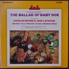 DOUGLAS MOORE & JOHN LATOUCHE: The Ballad of Baby Doe-NM1958 3LP BEVERLY SILLS
