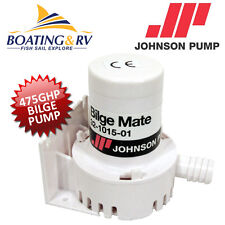 475gph Bilge Pump JOHNSON 12V Caravan/Marine Boat Water Submersible 30L