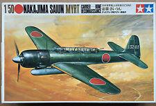 Tamiya MA109 Nakajima Saiun (MYRT) Träger Bone Aufklärung SELTEN NIB