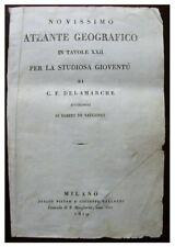 1819 ROBERT DE VAUGONDY - ATLAS - Original Title Page