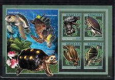 Granada 2013 Mnh Tortugas 4v m/s Reptiles Tortuga Marina Mata Mata Jamaican Deslizador