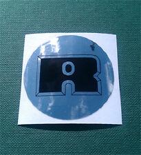 RELIANT mk1 Robin / Kitten wheel centre decal / stickers - set of 4
