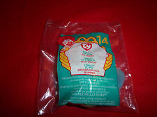 2000 McDonald's TY Teenie Beanie Coral the Fish NIP FREE SHIPPING