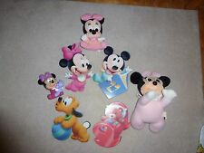 Lot Baby Mini & Mickey Mouse Dolls & Room Decor Pictures