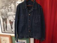 Veste en Jean Homme CERRUTI Denim Jacket Taille Size  XXL ( EU 56 )