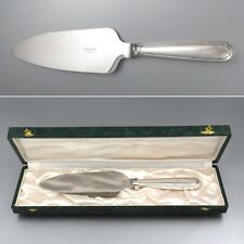 Vintage French Christofle Silver Plate Pie Server, Versailles Pattern, with Case