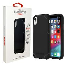 Griffin Survivor Strong Case Protective Cover For Apple iPhone XS Max - Black
