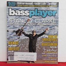 Stanley Clarke Bass Player Magazine Ben McKee Stevie Ray Vaughan March 2015 RARE