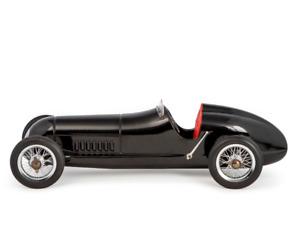 Modellauto Auto Modell Silberpfeil Aluminium Mercedes MB schwarz W25 roter Sitz