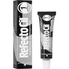 Refectocil Dye Pure Black Eyelash and Eyebrow Professional Tint 15ml Tinting