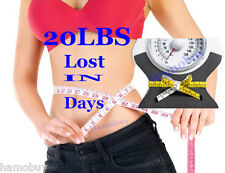 Lose 20lbs Extreme Plus Fat Burner Weight loss Slimming Diet Capsules.