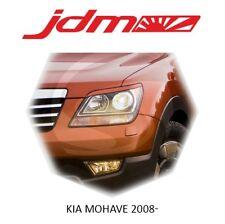 KIA MOHAVE 2008-2017 Eyebrows Eyelids Headligh Cover Unpainted 2 pcs