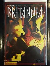 Britannia #4 NM- 2nd Print Free UK P&P Valiant Comics