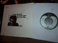 "George Harrison (Beatles) My Sweet Lord  Apple  1970 7"""