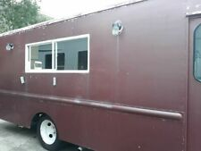 Good Running Chevrolet P30 Step Van Rewired Food Truck / Mobile Food Unit for Sa