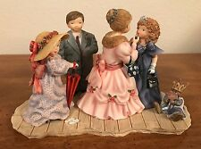 """LANG & WISE SPECIAL FRIENDS FIGURINE ~ Wedding  """"DRESS UP DAY"""" ~ 1998  #41600225"""