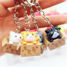 Lucky Cats Keyring Chi's Cat Keyring Keychain Car Key Ring Chain Cute Gift 1pc♫