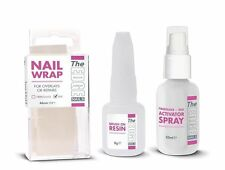 The Edge Nails Silk Wrap Trial Kit - resin 8g, activator spray