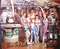 LOST IN SPACE -Rare CAST Autographed Signed 8x10 Photo Reprint