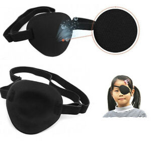 Medical Use Concave Eye Patch Foam Groove Washable Eyeshades Adjustable Strap ly