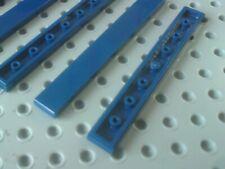 Lego Tile 1x8 [4162] Dark Blue x4