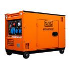6.5 KW Diesel  Black + Decker Stromerzeuger Stromaggregat BXGND6300E 230 V