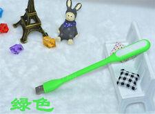 Flexible Mini USB LED Light LED Lamp for Keyboard Reading Laptop Notebook Green
