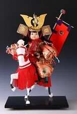 Beautiful Japanese Samurai Doll -Riding Horse- 騎馬武者