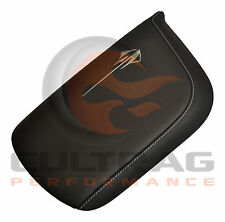 2014-2019 C7 Corvette Genuine GM Black Napa Leather Console Lid Stingray Logo