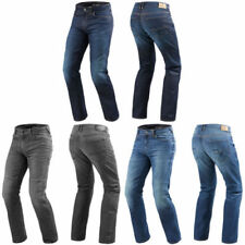 Pantalones de algodón de rodilla para motoristas de hombre