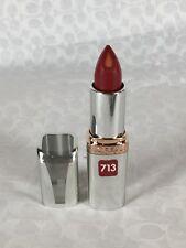 NEW L'Oreal Colour Riche Anti-Aging Serum Lipcolour Lipstick in Spiced Wine 713