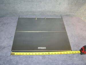 RV Stainless Stove Range Oven Bi-Fold Burner Cover Door Counter Top Back Splash